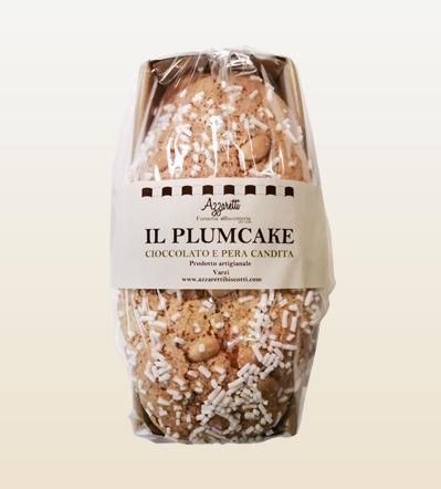 Plum cake ciocco pera